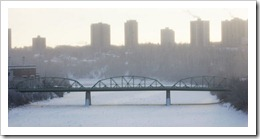 walterdale bridge current