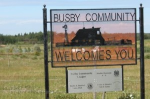 Busby+Welcome+Sign